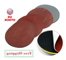 20pcs 5 Inch Hook And Loop 1000 1500 2000 3000 Grit Sand Pap