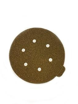 Sungold Abrasives 32503 6-Inch by 6 Hole 40 Grit HeavyWeight