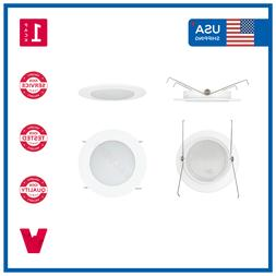 """5"""" 5 INCH Recessed Can Albalite Frosted Lens Bathroom Shower"""