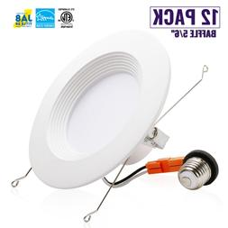 5/6 Inch, LED Downlight Baffle Trim, Recessed Can Light