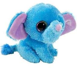 "5"" Blueberry Elephant Plush Stuffed Animal Toy - New"
