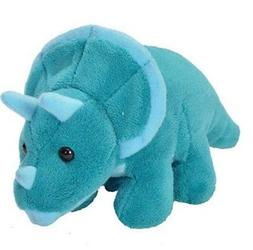 5 Inch Lil CK Triceratops Dinosaur Plush Stuffed Animal by W