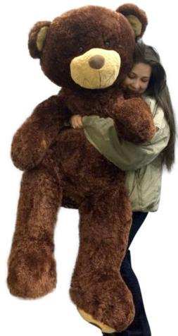 5 Foot Giant Teddy Bear Highest Quality Soft Brown Teddybear