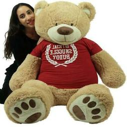 5 Foot Giant Teddy Bear Soft 60 Inch Removable T-shirt Offic
