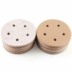 5 inch Hook and Loop Sanding Discs 150 Grit Random Orbit San