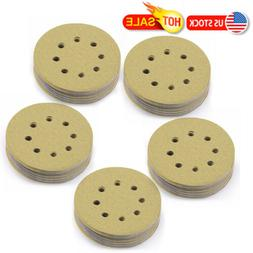 5 inch 120 Grit Sanding Discs Orbit Sander Pad Hook and Loop