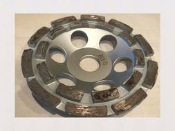 5 inch cup wheel for fast surface grinding of concrete, bric