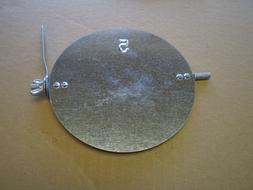 5 Inch Diameter Galvanized Duct Volume Damper with Manual Ad