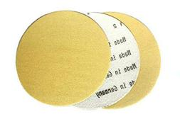 5 Inch Gold Hook and Loop Grip Sanding Discs