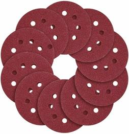 5 Inch Hook and Loop Sanding Disc Sandpaper Assorted Polishi