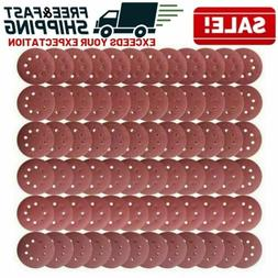 5 Inch Hook And Loop Sanding Discs Sandpaper Disc Sand Paper