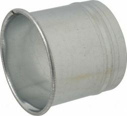 Made in USA 5 Inch Inside Diameter Galvanized Hose Adapter D