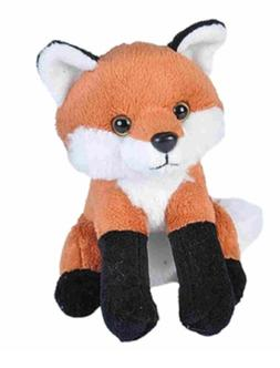 5 Inch Lil CK Red Fox Plush Stuffed Animal by Wild Republic