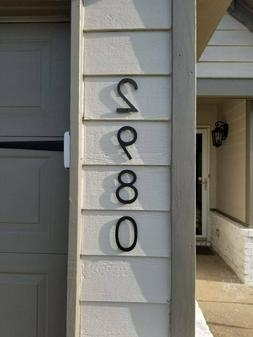 5 Inch Modern House Numbers - Economy series