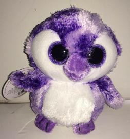5 Inch Sassy Scents Penguin  PLUSH GRAPE Stuffed Animal by W