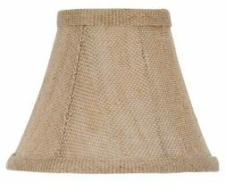 5 inch set of six natural linen