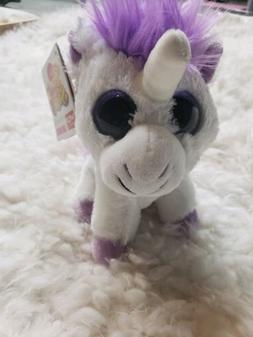 5 Inch Sweet & Sassy Lavender Unicorn Plush Stuffed Animal b