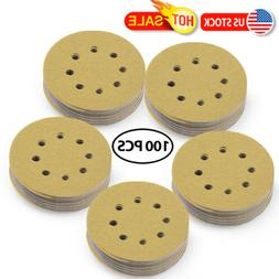 5inch 220 Grit Hook and Loop Sanding Discs Orbital Sander Sh