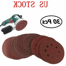 5inch Sanding Disc Orbital Sander Sandpaper Hook Loop 800-20