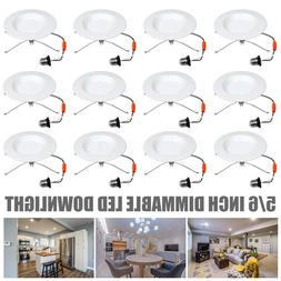 72PC 5/6 inch 15W LED Recessed Downlight Smooth Trim Dimmabl