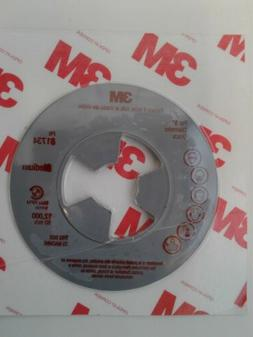 """3M 81734 Disc Pad 5 inch Face Plate Ribbed for 5"""" disc mediu"""