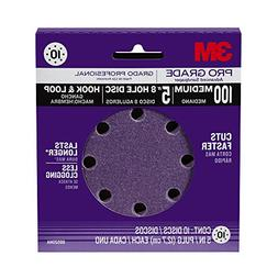 3M 88520NA-9-B Pro Grade 5-Inch 8-Hole Sanding Disc