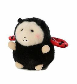 Lively Ladybug Rolly Pet 5 inch - Stuffed Animal by Aurora P