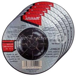 """Makita 5 Pack - 4 Inch Grinding Wheel For 4"""" Grinders - Aggr"""