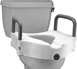 Nova Ortho-Med, Inc. Raised Toilet Seat with Detachable Arm