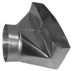 Midwest Ducts 5 Inch 90 Degree Angle Register Boot - 2.25 x