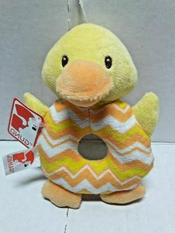 Baby Gund  Yellow Chick Gund 5 inches Rattle Baby Gift Showe