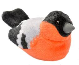 Wild Republic Birds European Bullfinch Plush, Authentic Bird