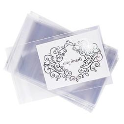 Clear Resealable Display Cellophane Bags Gift Treat Basket S