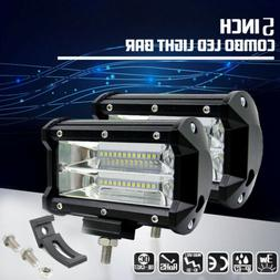 Combo 5 Inch 672W LED Work Lights Spotlight Off-road Driving