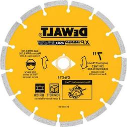 DEWALT DW4714 Industrial 7-Inch Dry Cutting Segmented Diamon