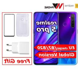 realme <font><b>5</b></font> Pro global version VOOC 20W Fas