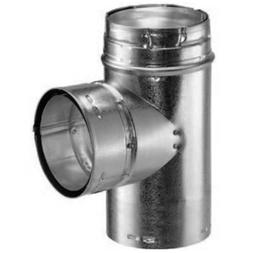 Metal-Fab Gas Vent Swivel Head Tee - 5 x 5 x 5 Inches