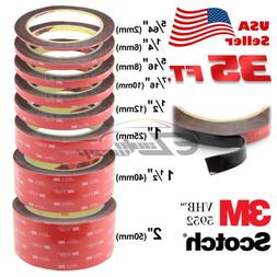 Genuine 3M VHB #5952 Double-Sided Mounting Tape 10.5M / 35FT