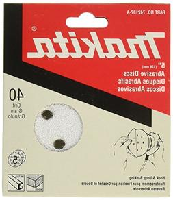 5-Pack Power Random 742137-A Hook /& Loop Discs 5-Inch 40-Grit And Abrasive Disc