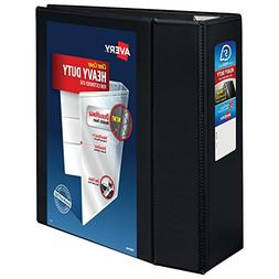 Avery Heavy-Duty Reference View Binder with 5 Inch EZD Rings