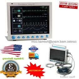 12.1 Inch ICU Patient Monitor Vital Signs Monitor 6 Paramete