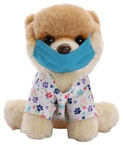 GUND Itty Bitty Boo Scrubs Dog Stuffed Animal Plush, 5""