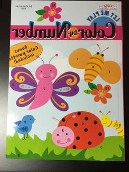 KAPPA COLOR BY NUMBER ACTIVITY BOOK FOR KIDS NEW BONUS COLOR