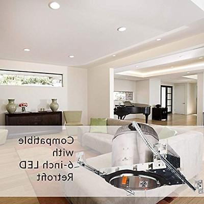 10 Construction LED Tight IC Recessed Lighting,