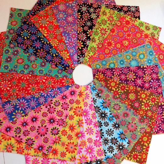 102 crazy daisy fabric