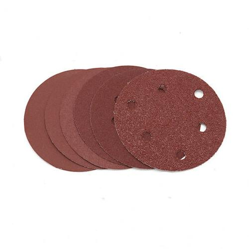 125mm Hole Sandpaper Orbital 40-2000 Grit