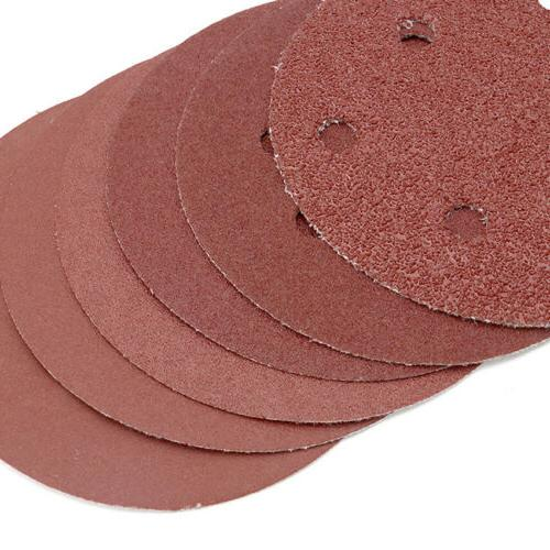 125mm Discs Hole & Loop Sandpaper Orbital 40-2000