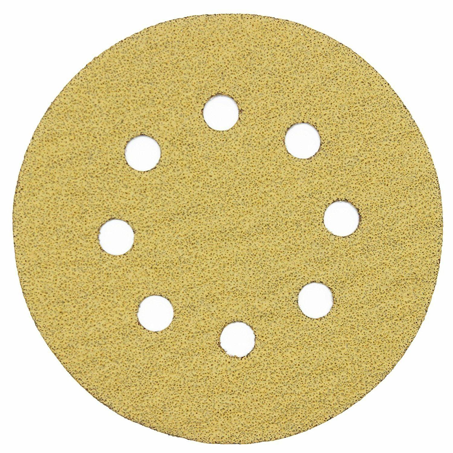 100pcs 5'' inch Grit and Sanding Sandpaper Pads
