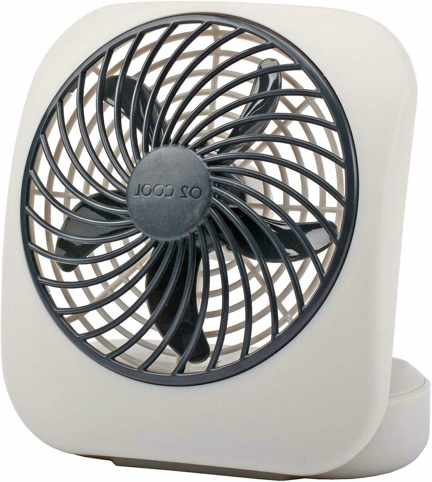 5 inch battery powered operated portable fan
