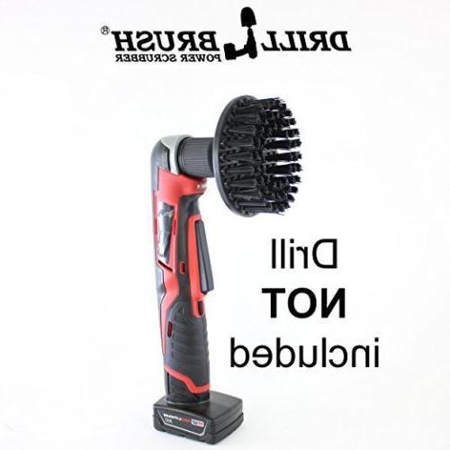 5 Inch Ultra Stiff Brush Heavy Cleaning by Drillbrush